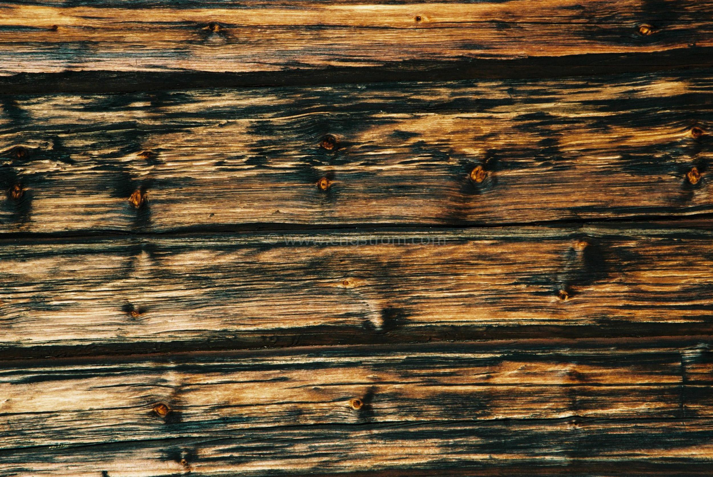 JE0400_063, Solbränt timmerhus. Ranvall vintern 2004, Jonas Engström