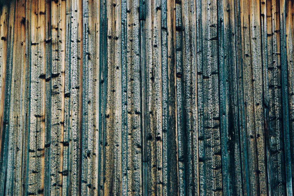 JE0400_066, Solbränt timmerhus. Ranvall vintern 2004, Jonas Engström