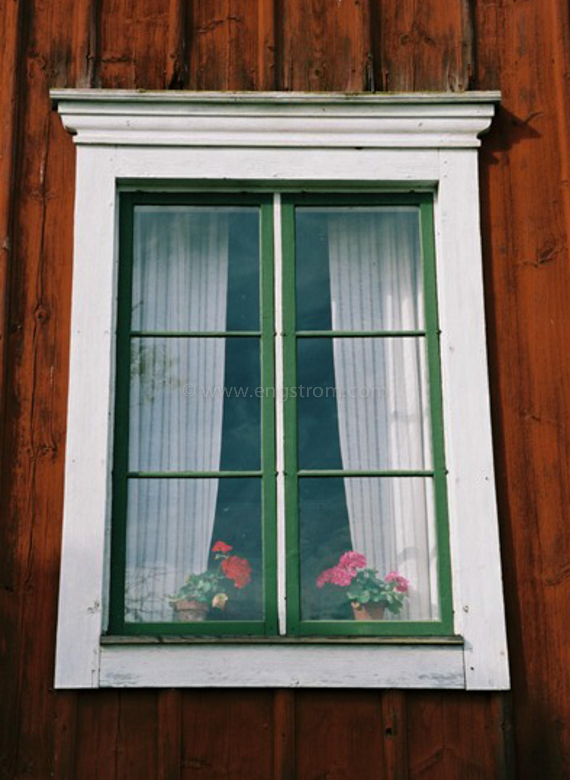 JE0425_171, Hälsingegård i Delsbo. Sommaren 2004, Jonas Engström
