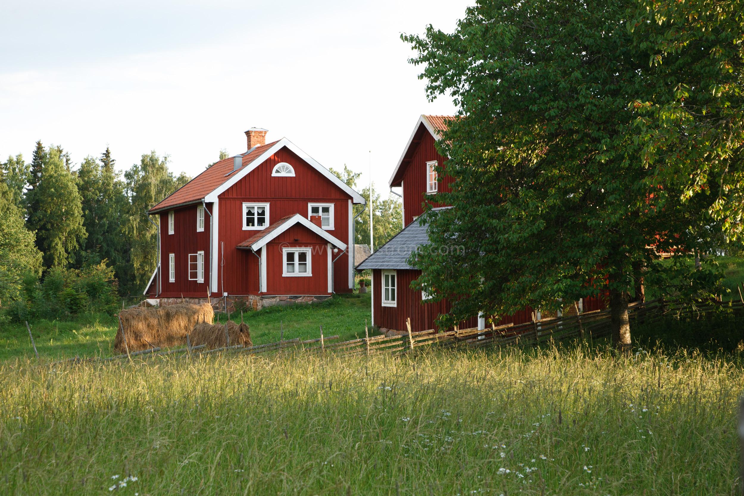 JE_20110707-193215, Falurött hus, Jonas Engström