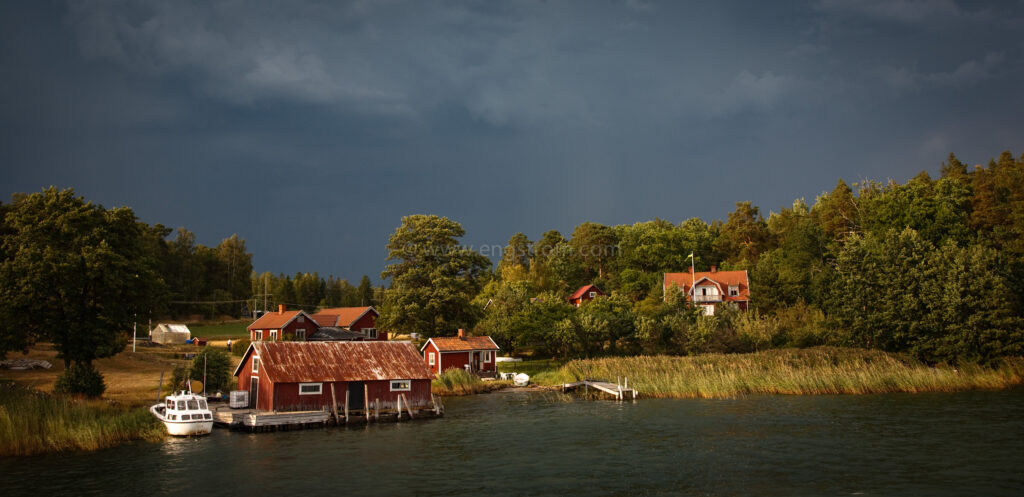 JE_65207, Strax innan ovädret bryter löst. Stockholms skärgård 2008., Jonas Engström
